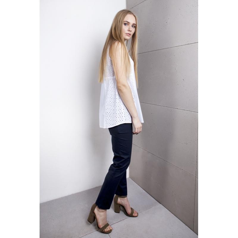 c7f301fe Bluzka ciążowa haft biała