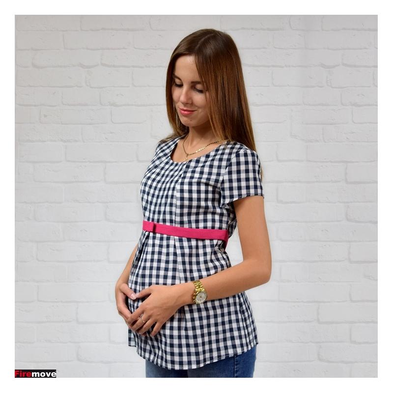 6bb3f882 Bluzka ciążowa w kratkę - Internetowy sklep Firemove