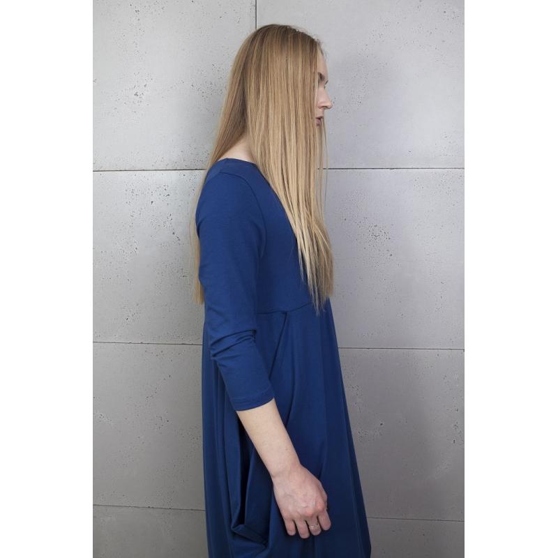 cbd5386c Tunika ciążowa niebieska